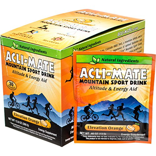 Acli-Mate Mountain Carton - 30-Pack Orange, One Size