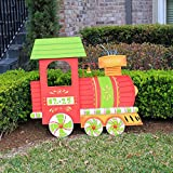 Big Outdoor Christmas Train Holiday Decoration (Limited Edition)
