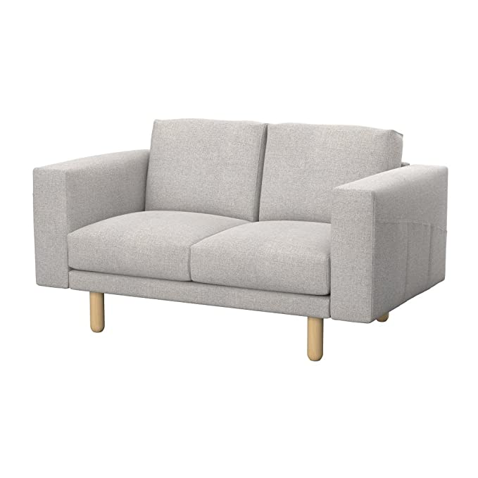 Soferia - IKEA NORSBORG Funda para sofá de 2 plazas, Naturel ...