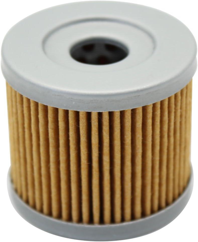 cyleto Filtro de aceite para Uh125 Burgman 125//UH200 Burgman 200 2002-2012
