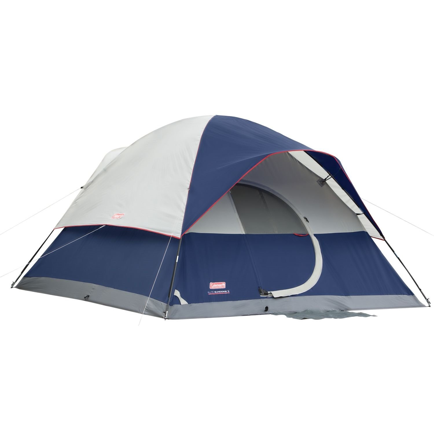 Amazon.com  Coleman Elite Sundome 6 Person Tent with LED Light System  Family Tents  Sports u0026 Outdoors  sc 1 st  Amazon.com & Amazon.com : Coleman Elite Sundome 6 Person Tent with LED Light ...