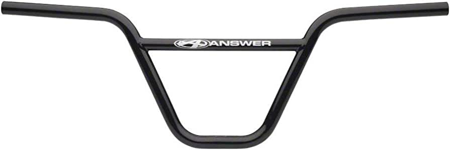 "Black Answer BMX Chromoly Pro 7/"" Handlebar"
