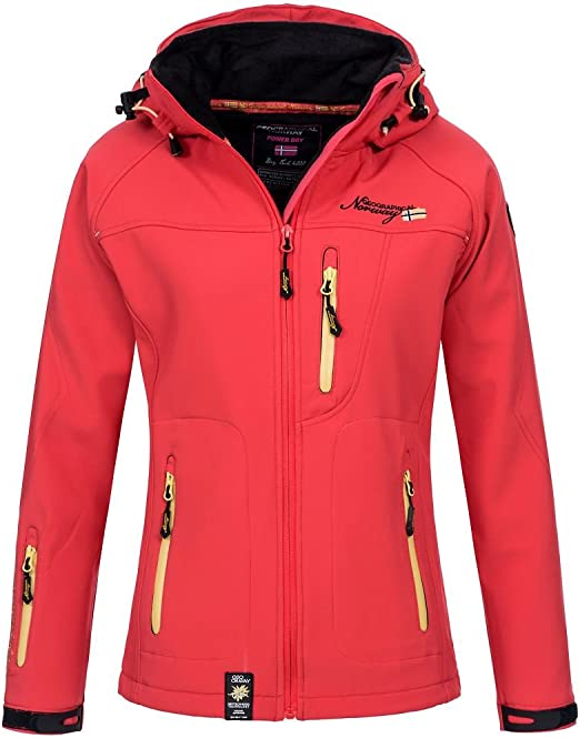 Geographical Norway Damen Jacke Gr. 46, rot: