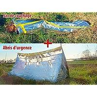 SEMPTEC - Set complet sac de couchage + Tente de survie