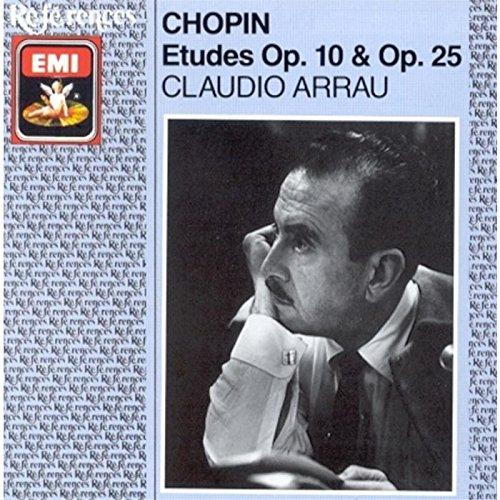 Chopin: Etudes Op. 10 & 25/Trois Nouvelles Etudes; Claudio Arrau by EMI Classics France