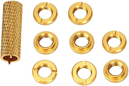 8pcs Remote Control Switch Nut With Removal Tool For RC Transmitter N10266Y