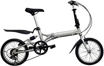 GHGJU Bicicleta Plegable de Aluminio de 16 Pulgadas, 20 Pulgadas ...