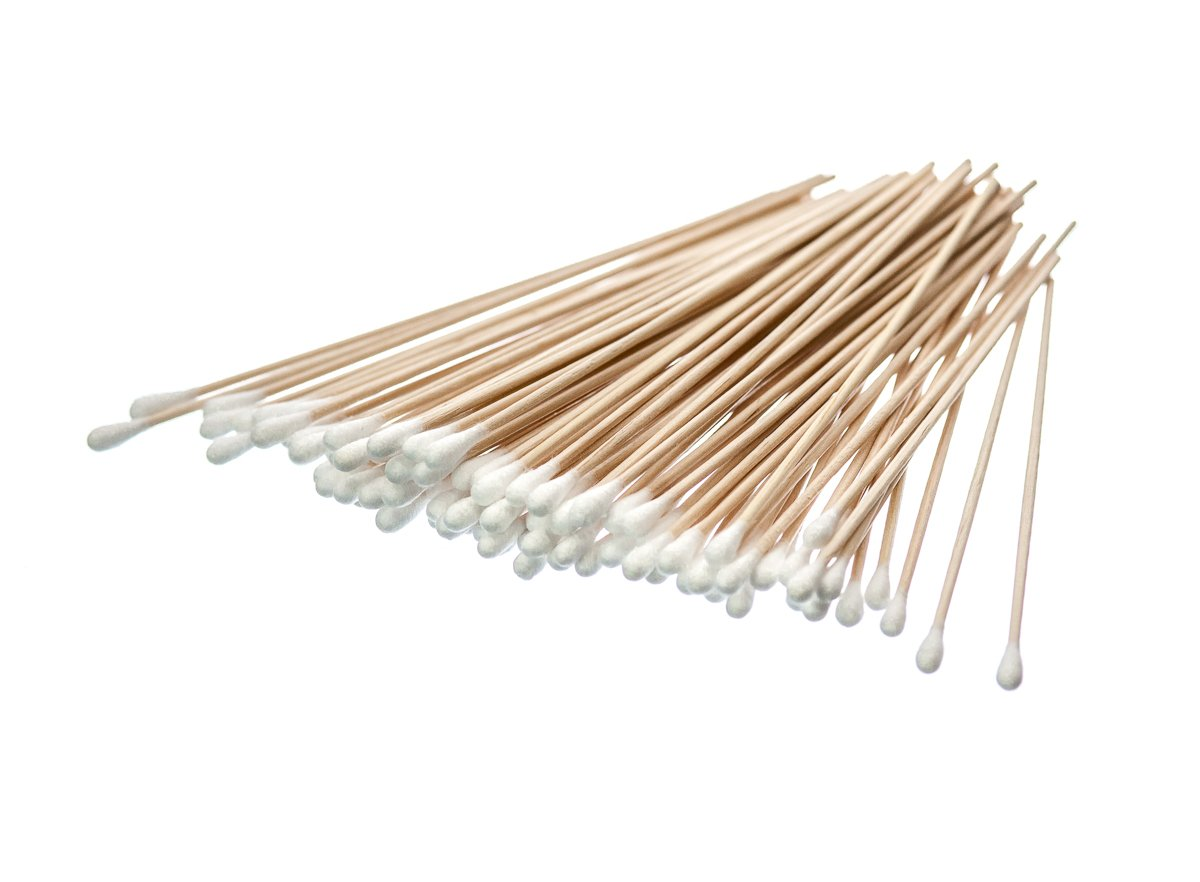 "SE CS100-6 100 Count 6"" Cotton Swabs"