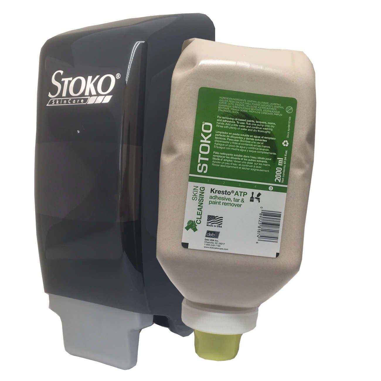Kresto ATP [Cupran] Hand Cleanser 2000ml softbottle (pn98187406) + Dispenser (PN55980806) Combo