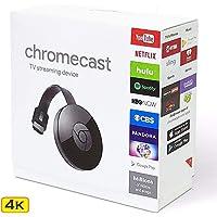 4K Chromecast WiFi Display HD TV Screen Mirroring Wireless TV Dongle