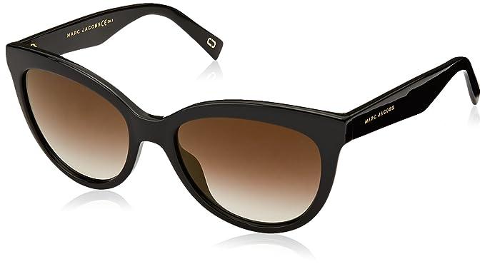 MARC JACOBS Marc Jacobs Damen Sonnenbrille » MARC 310/S«, schwarz, 807/JL - schwarz/ gold