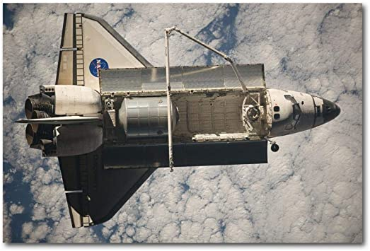 WSHIYI Carteles e Impresiones Discovery The Shuttle Nave ...