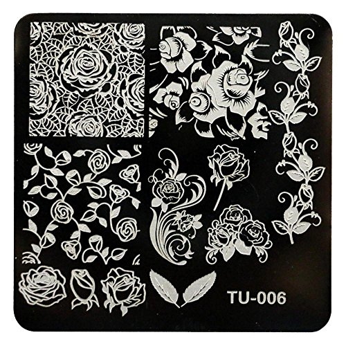 Money coming shop Nail Art HAICAR Colorwomen 1pcs/lot DIY Rose Flowers Nail Art Image Stamp Stamping Plates Manicure Template 161130 Drop Shipping (Halloween Cheese Ball Eyeball)