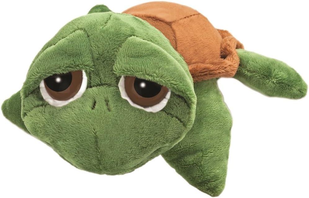 NICI Schildkröte grün goldgelb mit großen Augen 15cm groß Plüschtier Kuscheltier