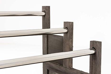 Porta Asciugamani Bagno Da Terra : Clp portasciugamani osaka in legno di paulonia portasalviette da