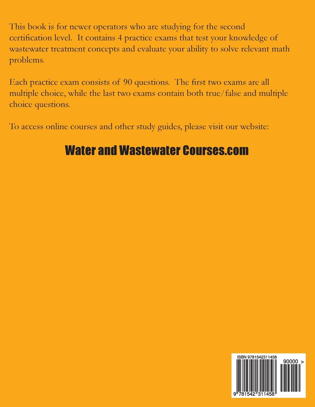 Practice Exams Wastewater Treatment Operator Certification Ken