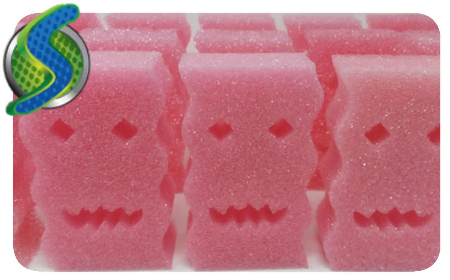 30 Pack Sponges - Stronger and Larger Than Scrub Daddy and Rinses Clean! Soft in Hot Water and Hard in Cold Water! Amazing Sponges Will Not Scratch Any Surface! Next Generation Sponges Made in USA!