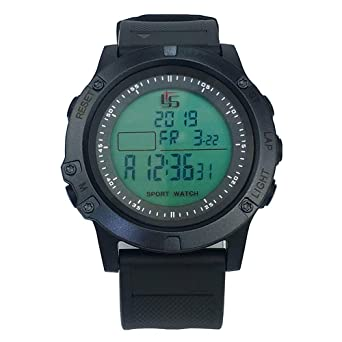 Digital Stopwatch Timer for Sports Coaches Fitness Coaches and Referees Large Display with Date Time and Alarm Function Waterproof and Shockproof