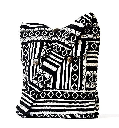 Jacquard Hobo Style Bag - 3