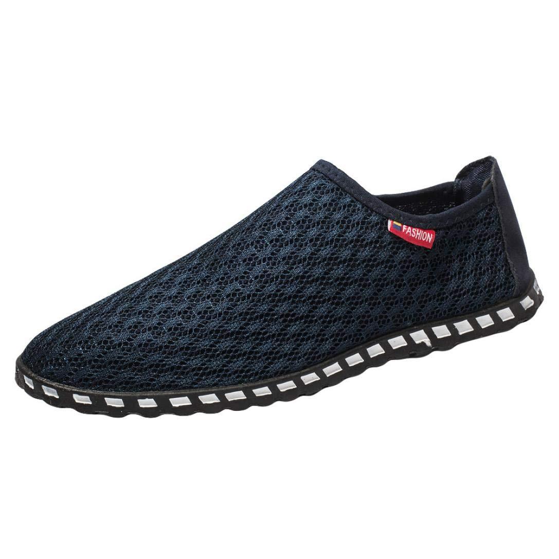... Casual Respirable Heuco Calzado de Planos Playa Zapatos Informales Bambas Zapatos para Perezoso Náuticos Mocasines: Amazon.es: Deportes y aire libre