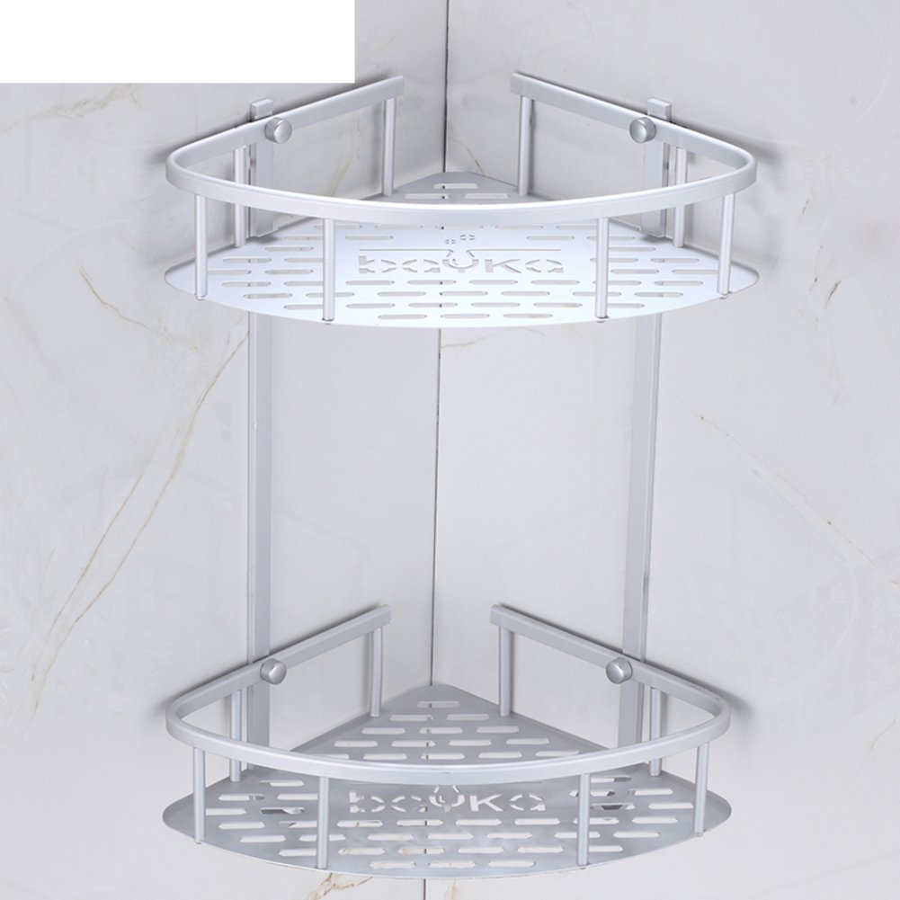 60%OFF Bathroom racks/Bathroom triangular basket stand-A