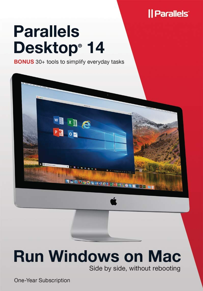 Parallels Desktop 14 for Mac, 1 Year Subscription [Mac Download]