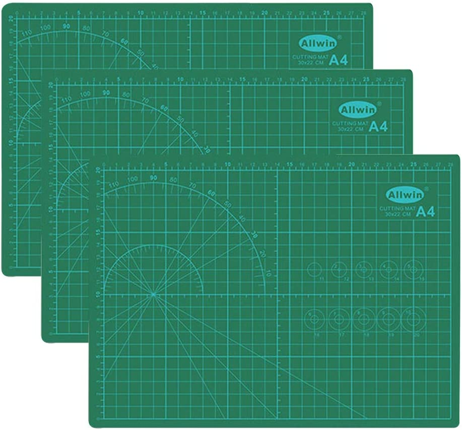 PVC Cutting Mat Fabric Leather Paper Double-sided Healing Cutting Board FY,