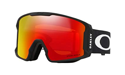 e91db0cb1c20 Image Unavailable. Image not available for. Color  Oakley Line Miner XM Snow  Goggles Matte Black with Prizm Torch Iridium Lens