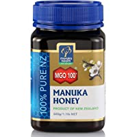 Manuka Health 蜜纽康 MGO100+麦卢卡蜂蜜500g(新西兰进口)