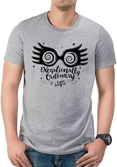 I-D-C Harry Potter-Exceptionally Ordinary Camiseta para Hombre: Amazon.es: Ropa y accesorios