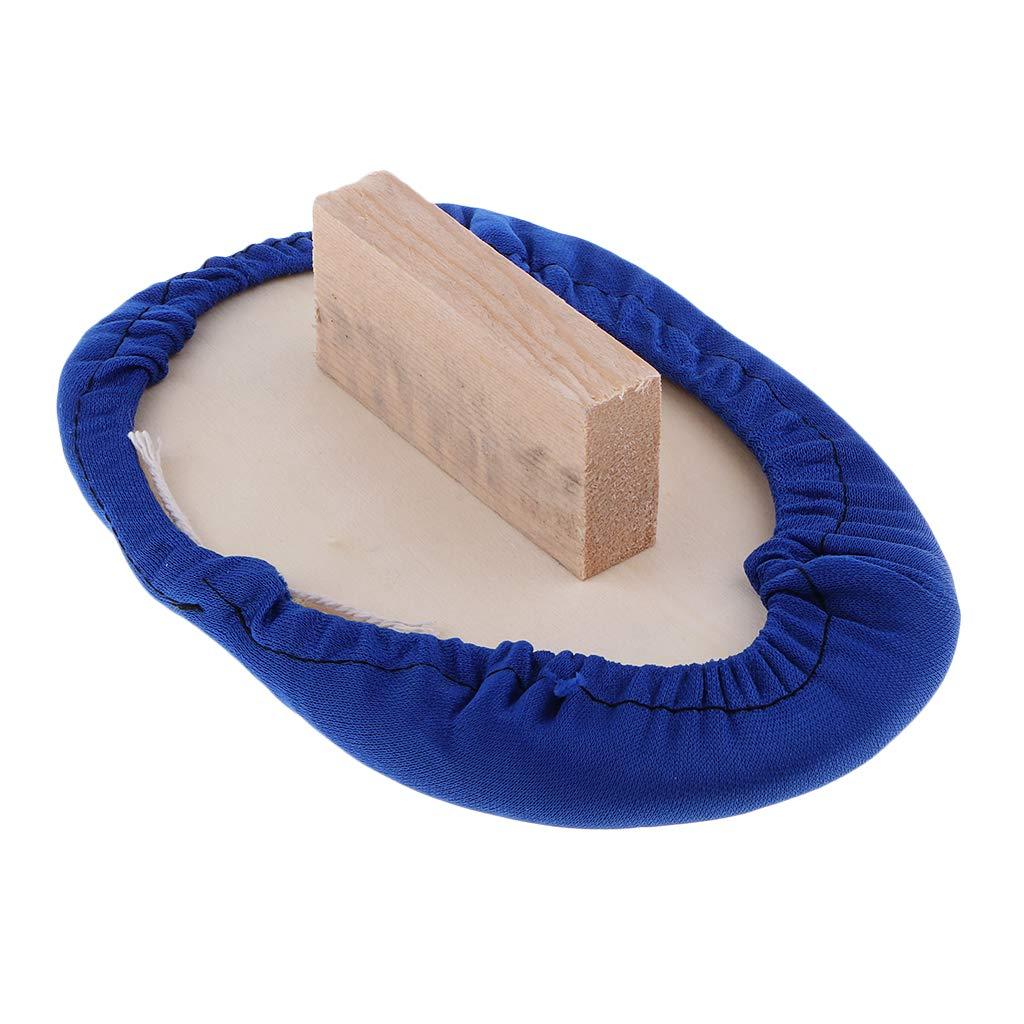Baosity Garment Steamer Iron Wood Board Durable Heat Resistant Ironing Handheld Pad