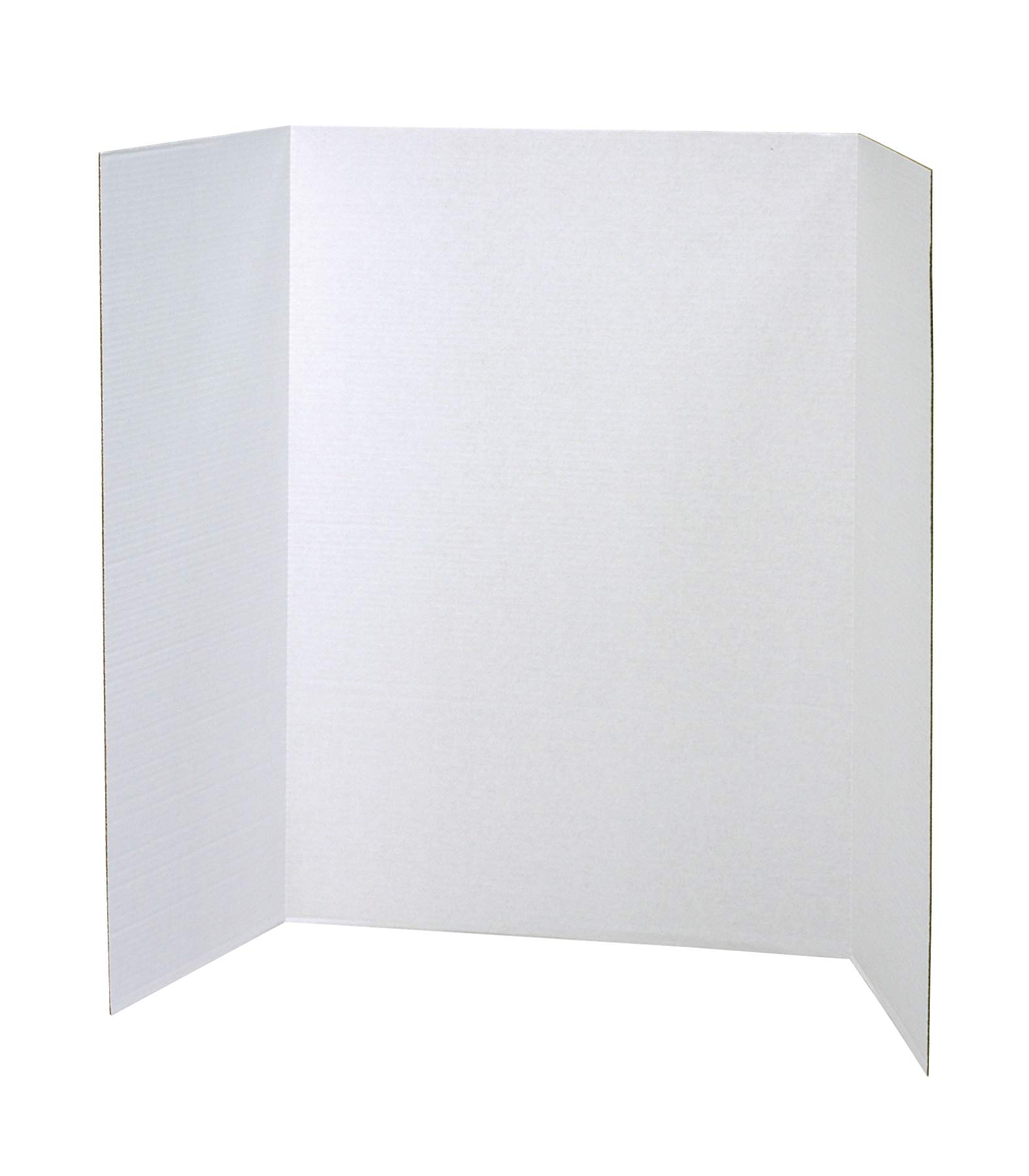 Pacon Single Wall Presentation Board, 48'' x 36'', White, 4 Boards by Spotlight Presentation Board