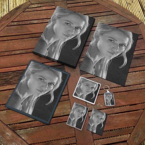 JOHANNA BRADDY - Original Art Gift Set #js002 (Includes - A4 Canvas - A4 Print - Coaster - Fridge Magnet - Keyring - Mouse Mat - Sketch Card) by Seasons