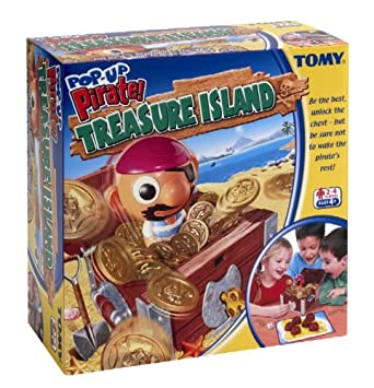 Tomy Pop Up Pirate Treasure Island: Amazon.co.uk: Toys & Games