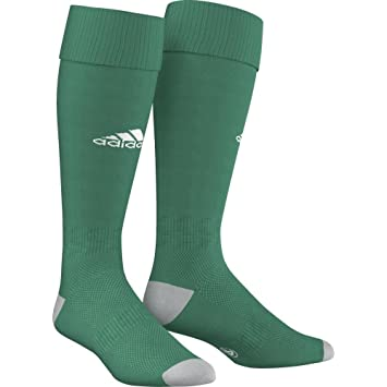 adidas Men's Milano 16 Socks, Green/White, 2.5-4 UK