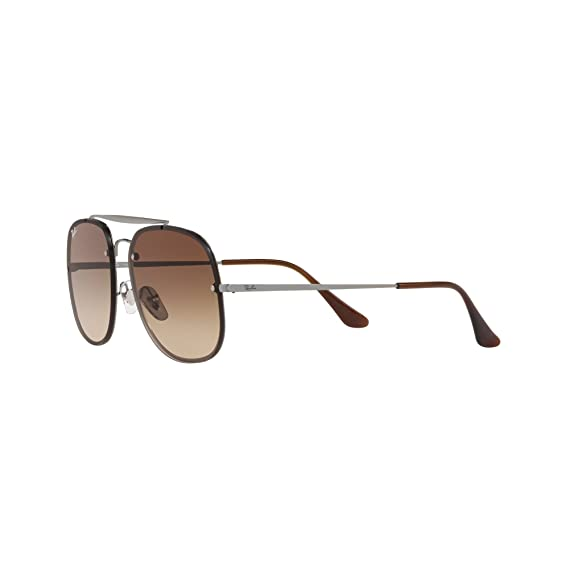 e50dbbcd81 Ray-Ban Blaze General Sunglasses in Gunmetal Brown Gradient RB3583N 004 13  58  Amazon.co.uk  Clothing