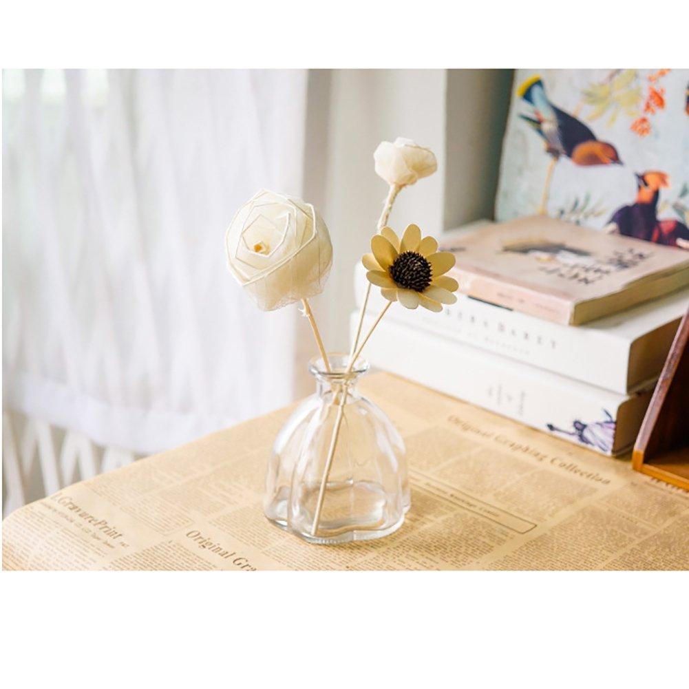 543317016e2c Laat Retro Pumpkin Glass Bottle Vase Decoration for Weddings Banquet Hotel  Home