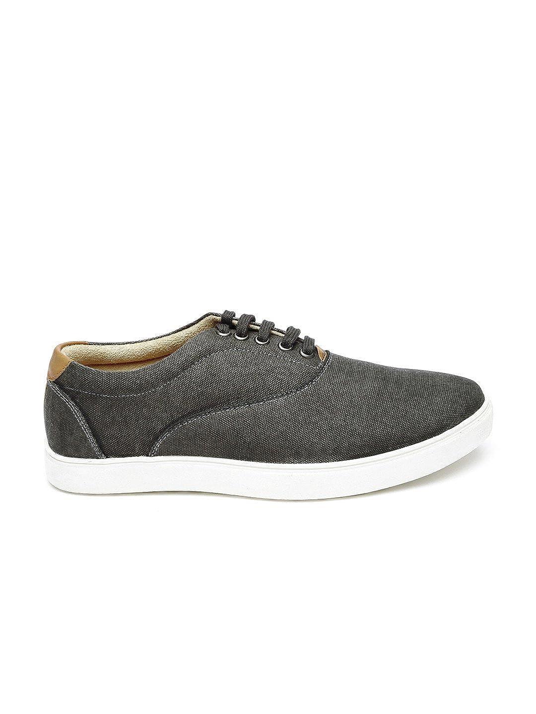 Buy WROGN Men Grey Sneakers (7UK) at