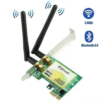 Amazon.com: Ziyituod - Tarjeta de red inalámbrica PCIe para ...
