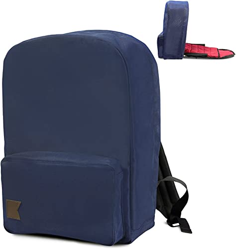 Kishu Anti Theft Minimalist Backpack Navy Blue
