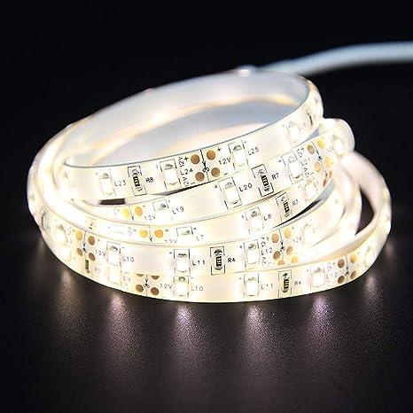 Luz de tira del sensor de movimiento,Yansion Luz LED flexible Lámpara de guardarropa de