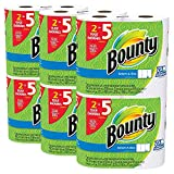 Bounty Select-a-Size Paper Towels uIFkvG, White, Huge Roll, 60 Count
