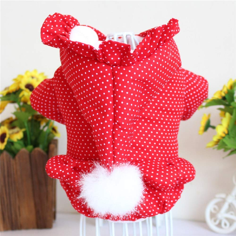 L bust 39CM 1 PCS Pet Fall and Winter Clothes Bear Thicken Cute Two feet Funny Dog Coat AP9251138 (Size   L Bust 39CM)
