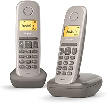 Gigaset DECT/GAP - Teléfono fijo inalámbrico: Amazon.es: Electrónica