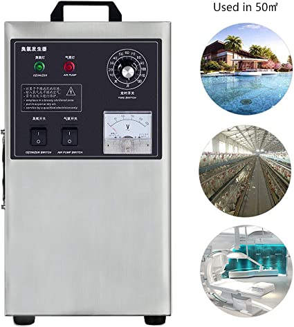 Generador de ozono Comercial 3g / H Purificador de Aire ...