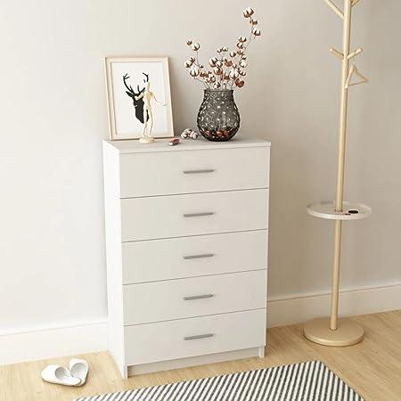 Furnituredeals cajonera de Madera 71 x 35 x 108 cm Blanca.No ...
