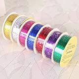 Ioffersuper Lace Roll DIY Washi Decorative Sticky Ribbon Masking Tape Self Adhesive Gold