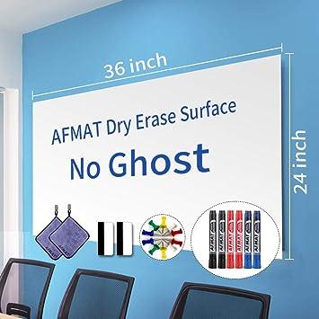 White Board Paper Dry Erase Wallpaper Peel And Stick Dry Erase Board 36 X 24 Self