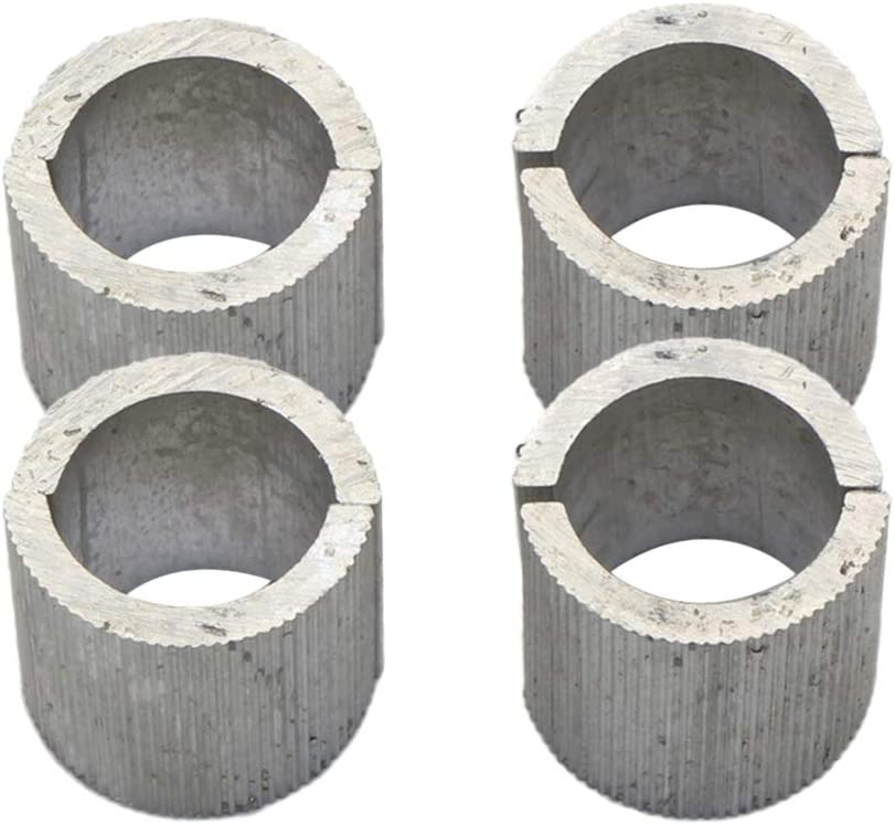 KESOTO 16x Barre en Aluminium Despaces De Bride De Guidon en Aluminium De 22mm /à 25mm pour Le Motocycle