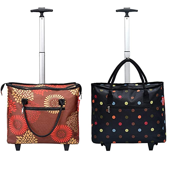 98c181093032 Amazon.com : North cool Folding Shopping Cart Portable Tug Bag ...